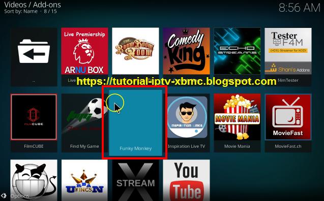 Funky Monkey Kodi Addon Live TV ,Movies ,TV Shows On Kodi - New Kodi