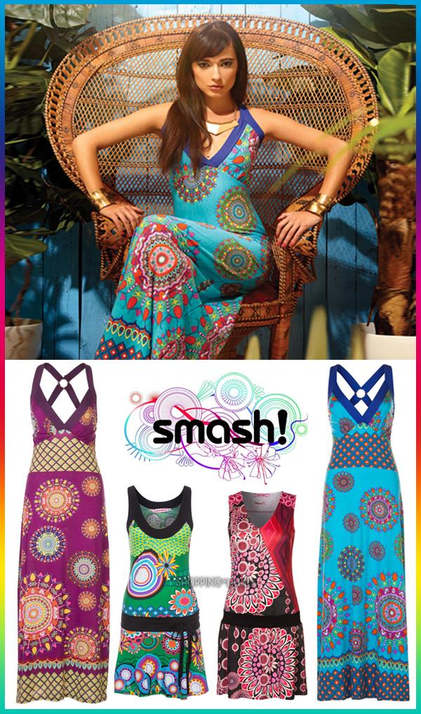 Robes imprimées fun et colorées SMASH
