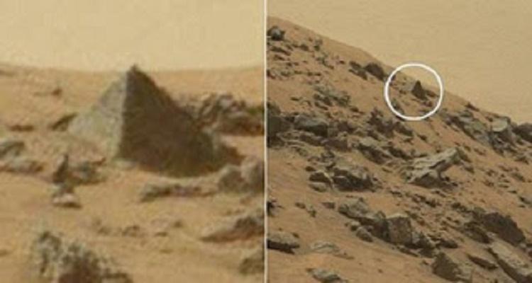 وكاله ناسا تكتشف هرم فوق سطح المريخ والعلماء يفسرون وجوده