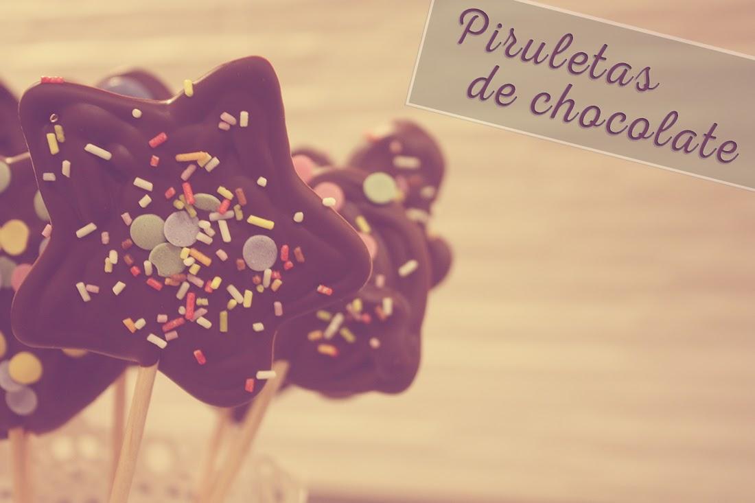 piruletas chocolate punto de lu