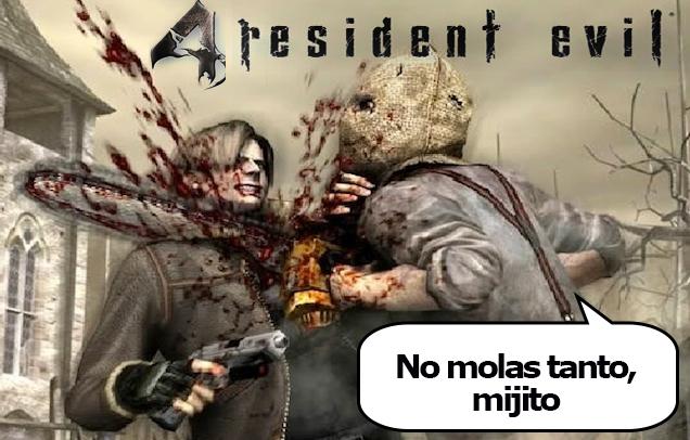 Resident Evil 4 - Leon, no eres tan guapo