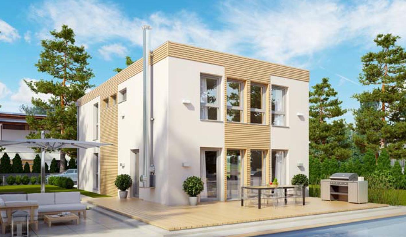 Casa prefabricada modelo denia casas prefabricadas - Modelo casa prefabricada ...