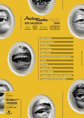 Poster_cartel_pechakucha2016JUNIO_disenyo-grafico-cartel-Valencia-pechakuchanight-GUST_lasnaves_dissenycv_cervezasturia_laimprenta