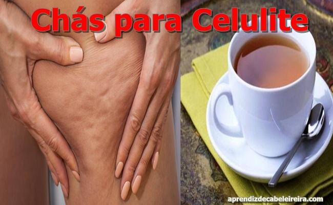 Chás para Acabar com a Celulite