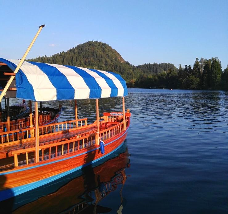 pletna bateau touristique