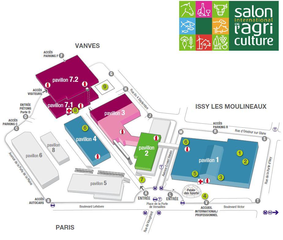 Top du meilleur le salon de l 39 agriculture 2012 - Parc exposition porte de versailles ...