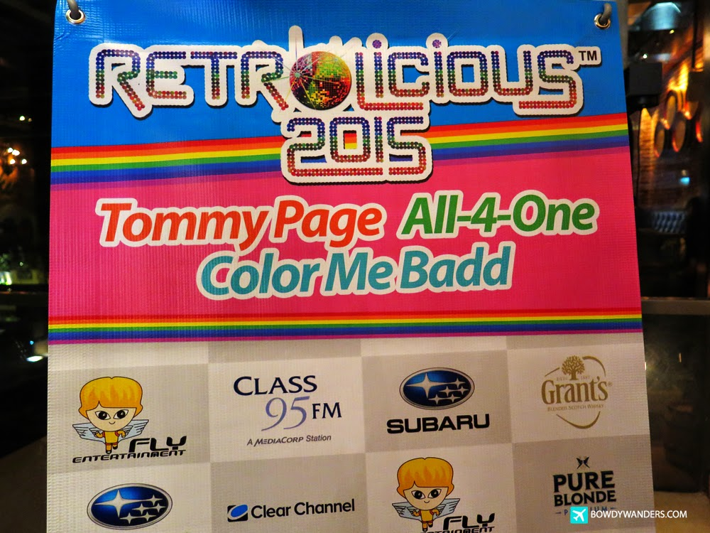 Retrolicious 2015 Welcome Dinner Party with Tommy Page, Color Me Badd, and All-4-One