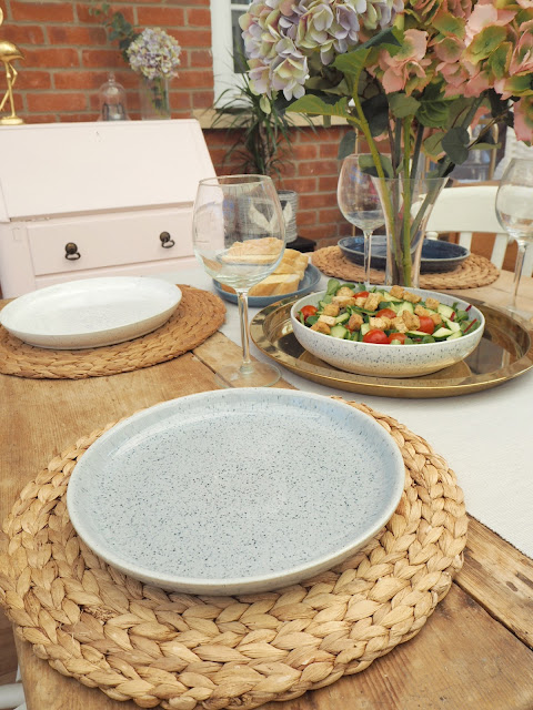 Denby's new collection Studio Blue crockery - a grown up dinner set to replace cheap plates and bowls leftover from my student days