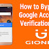 How to Bypass Google Account Verification on Gionee Android Phone