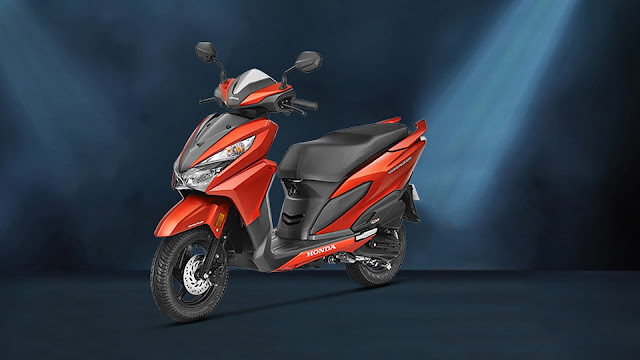 Honda Grazia 125 orange Hd Wallpaper