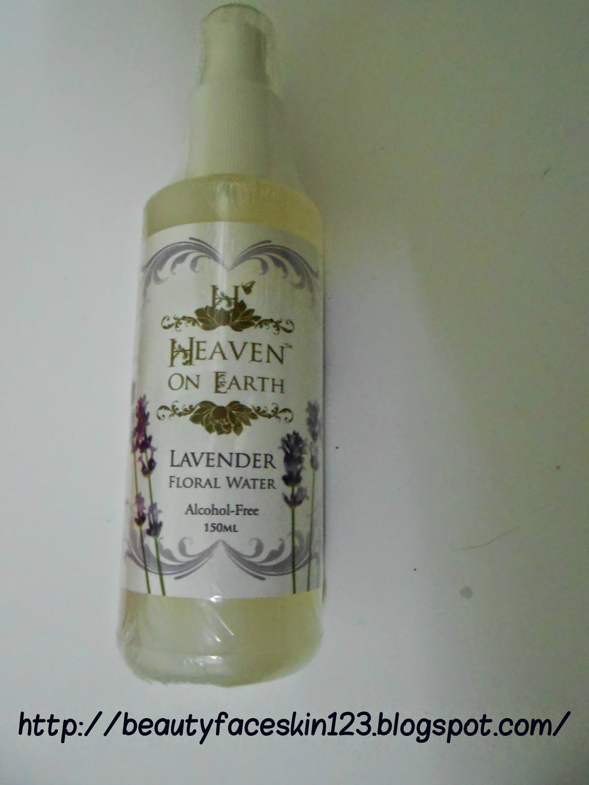 HEAVEN ON EARTH LAVENDER FLORAL WATER