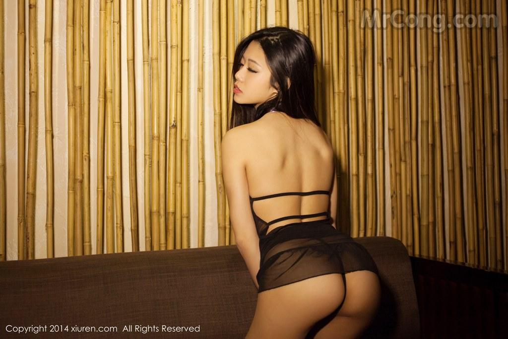 Image MrCong.com-XIUREN-No.147-Luvian-Ben-Neng-061 in post XIUREN No.147: Người mẫu Luvian (本能) (62 ảnh)
