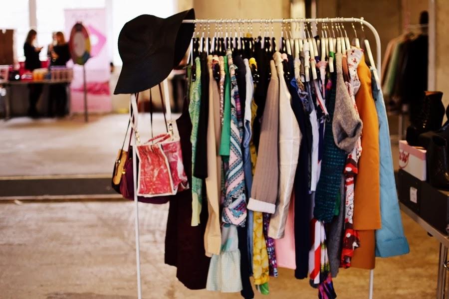 kleiderstange blogger bazaar flohmarkt nhow hotel