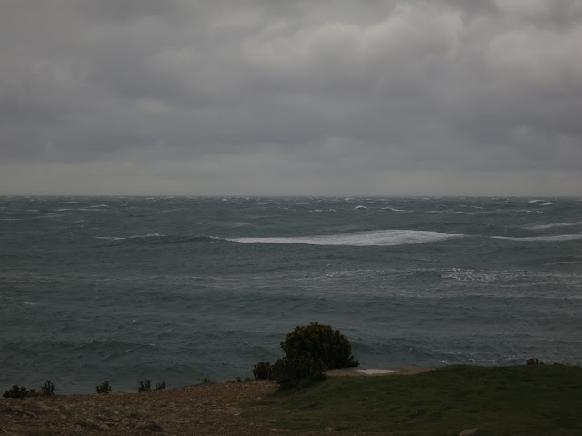 Rough sea at Portland Bill, Dorset. September 14th 2015