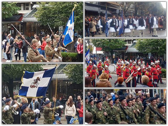 Γιάννενα: Με την παρέλαση κορυφώθηκαν οι εκδηλώσεις για την εθνική επέτειο της 28ης Οκτωβρίου