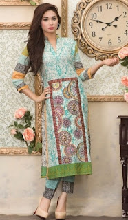 Moon Textile Batik Embroidered Lawn 2017-18
