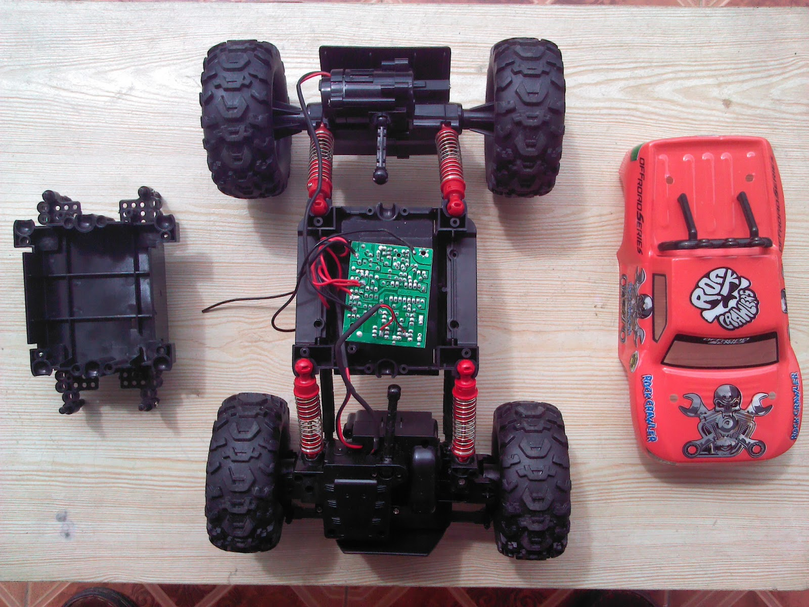 rc car hardware and ioio board  wiring diagram