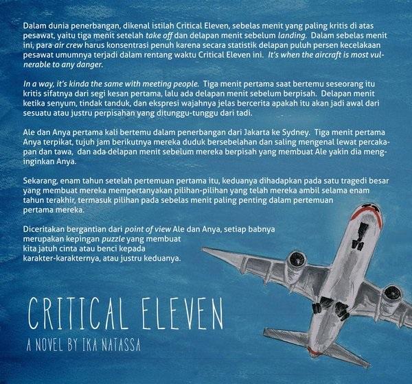 Sinopsis Novel Critical Eleven