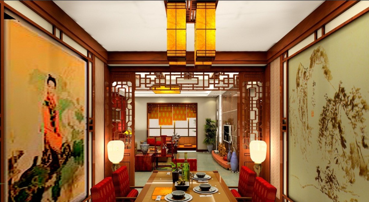 chinese home decorating ideas. . ancient chinese dining set