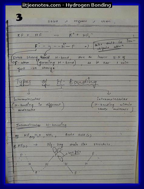 hydrogen bonding3
