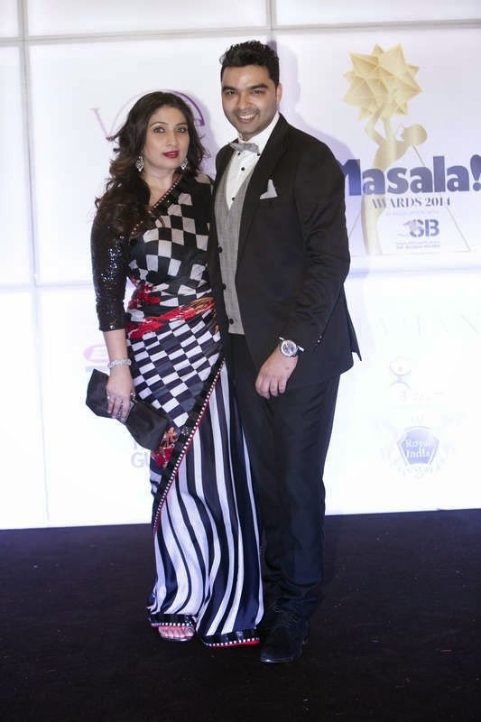 Shefali Munshi and Varoin Marwah, Masala! Awards 2014 Photo Gallery