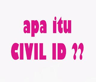 apa itu civil id