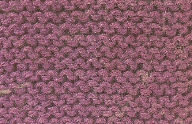 Patrón #1857: Como tejer punto musgo o bobo a dos agujas
