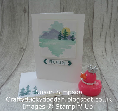 Craftyduckydoodah!, Stampin' Up! UK Independent  Demonstrator Susan Simpson, Waterfront, Coffee & Cards project March 2018, Supplies available 24/7 from my online store,