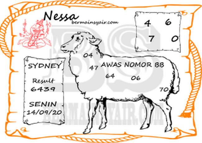 Kode syair Sydney Senin 14 September 2020 243
