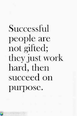Successfull  People Are  Not Gifted;  They Just Work  Hard, Then  Succed On   Purpose.  #Inspirationalquotes #motivationalquotes  #quotes