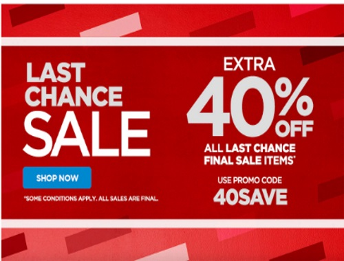 The Shopping Channel Last Chance Sale Extra 40% Off Promo Code