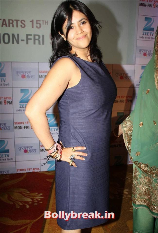Ekta Kapoor, Ekta Kapoor at Kumkum Bhagya Serial Launch