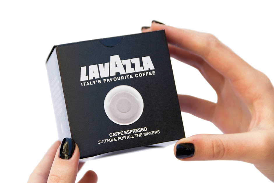 Lavazza coffee packaging design