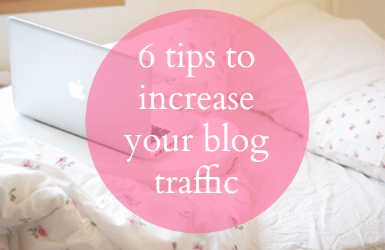 six ways to increase blog traffic