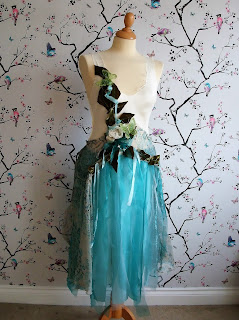 upcycled boho faerie dress at karenvallerius.co.uk