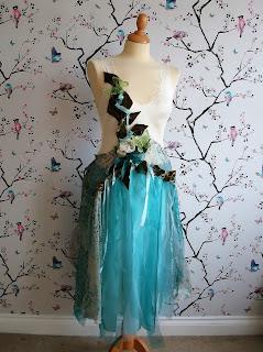 upcycled boho faerie dress at karenvallerius.co.uk