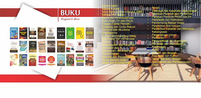 Daftar dan Katalog Buku Pariwisata dan Perhotelan