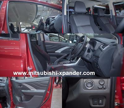 interior xpander sport black