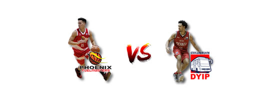 June 10: Phoenix vs Columbian, 4:30pm Smart Araneta Coliseum