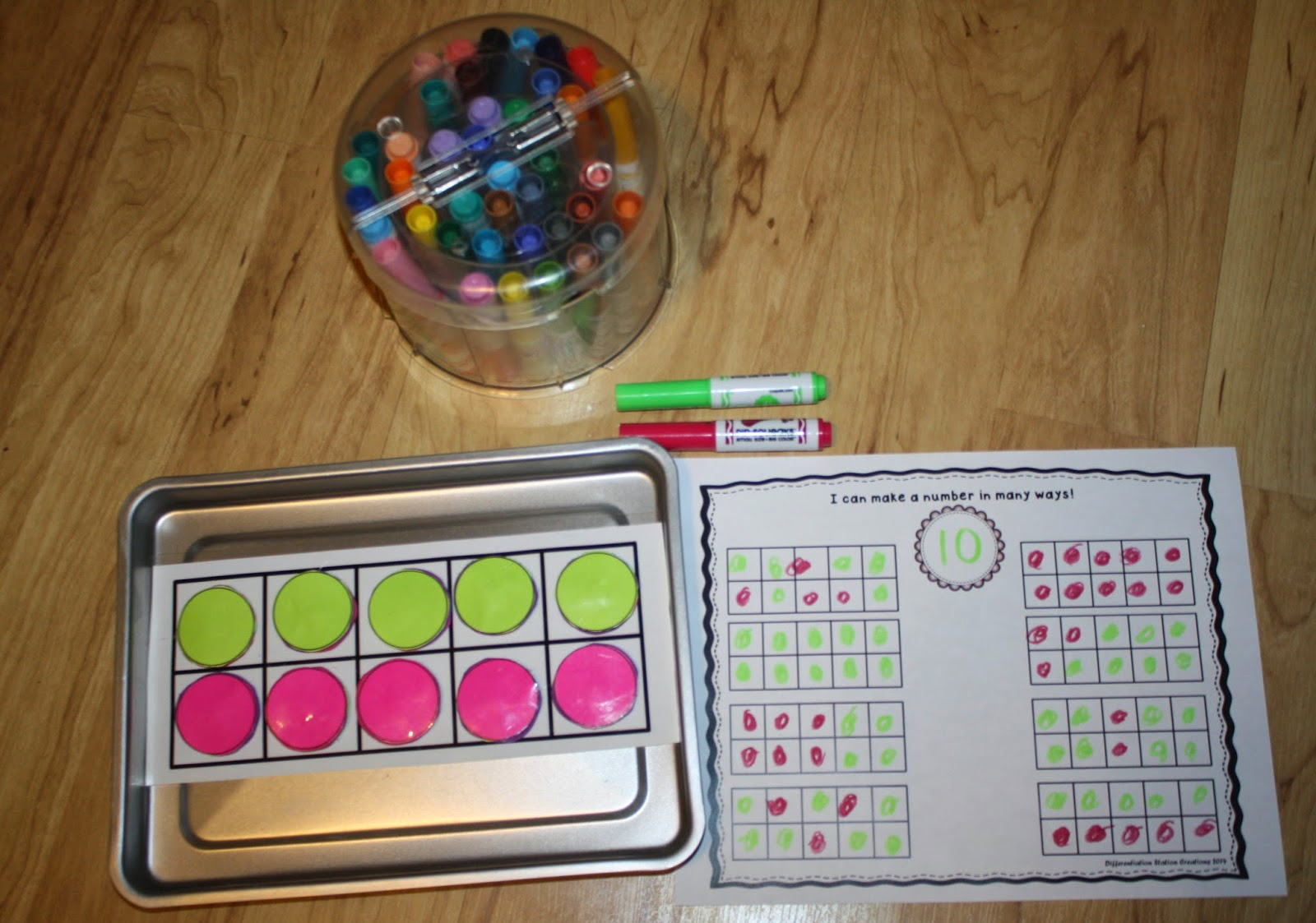 Differentiation Station Creations Bright Ideas Math Blog Hop