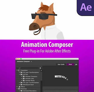 تحميل Animation Composer للافترافكت