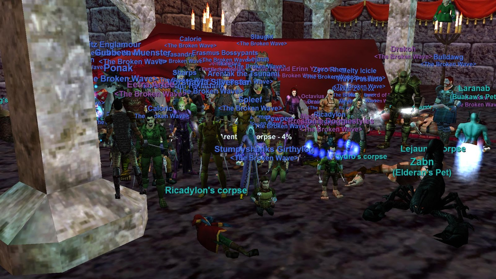 Arentak's Everquest Blog: Revenge! Vox down! Naggy down!