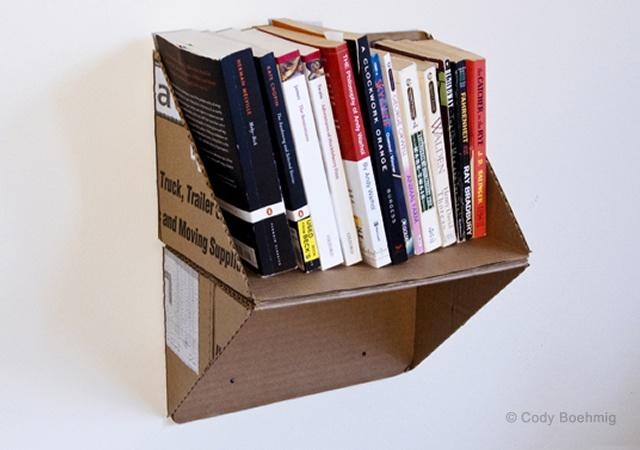 Más Estantes O Libreros De Cartón Quiero Más Diseño