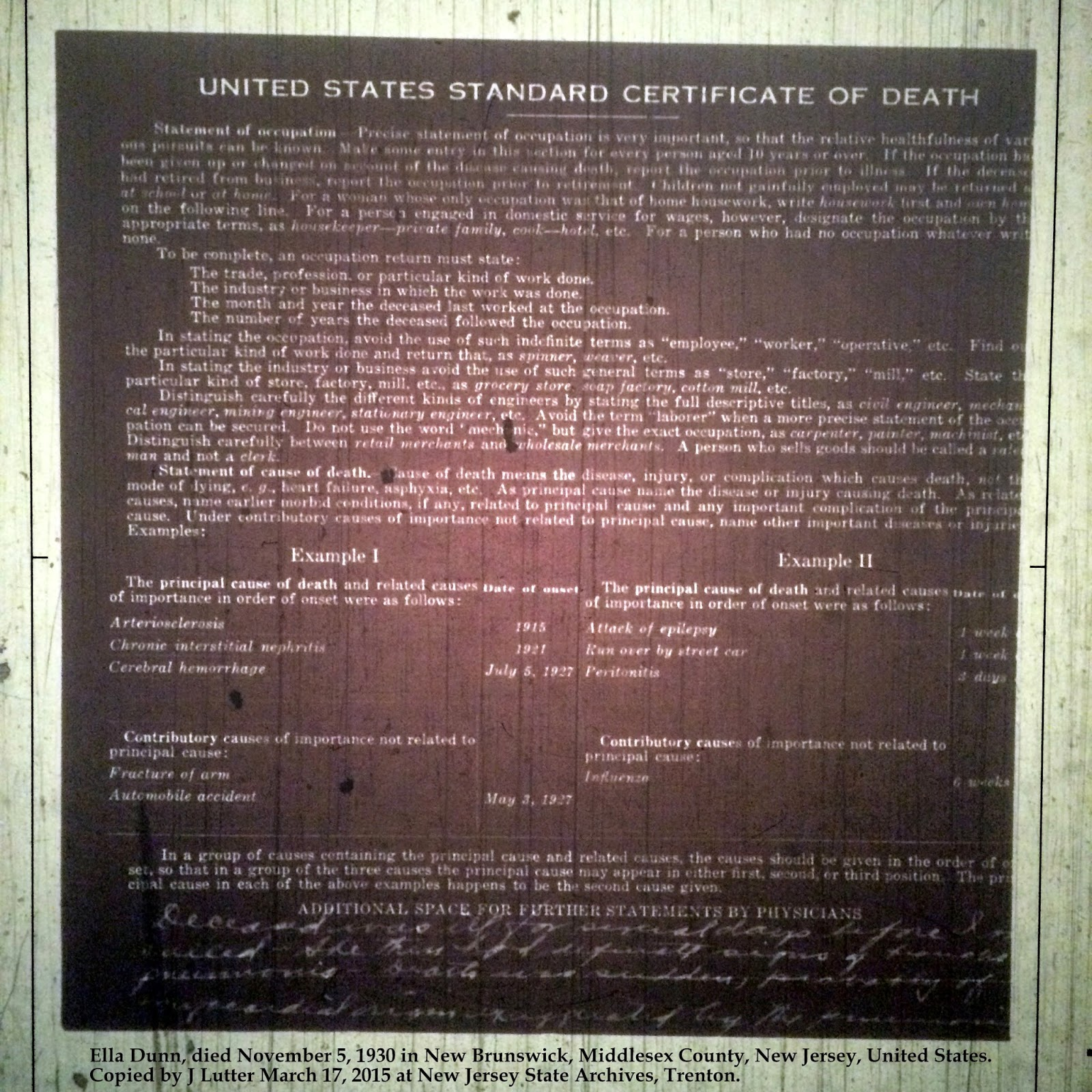 Family history research by jody hit or miss records copied by j lutter march 17 2015 at new jersey state archives trenton xflitez Images