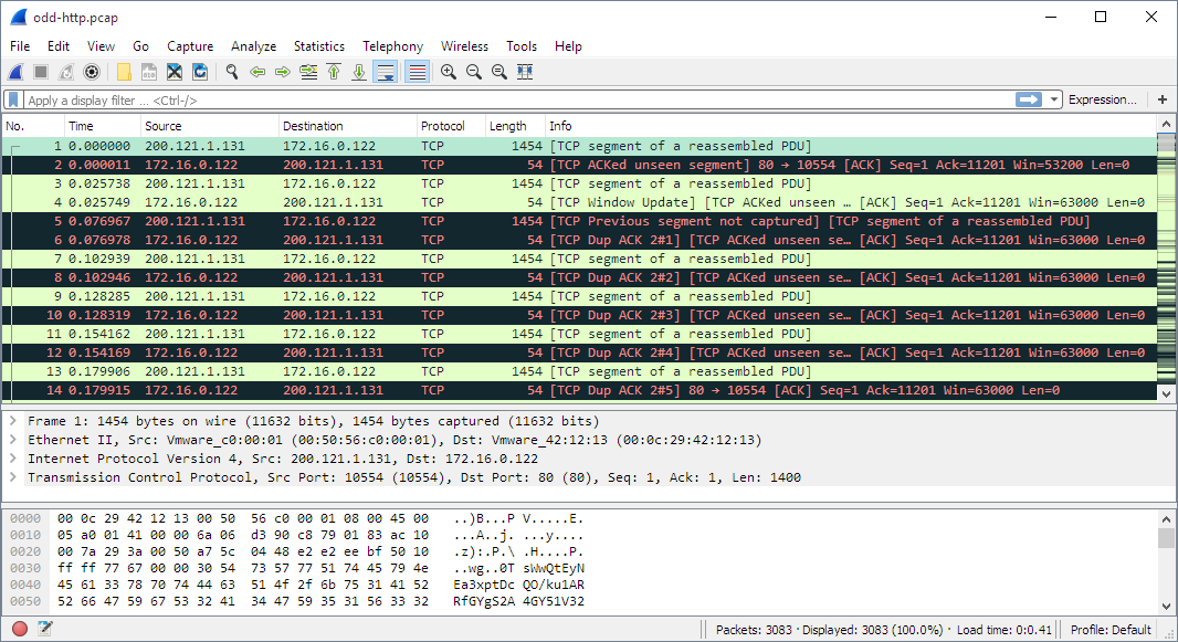Wireshark V2 0 The World S Foremost Network Protocol