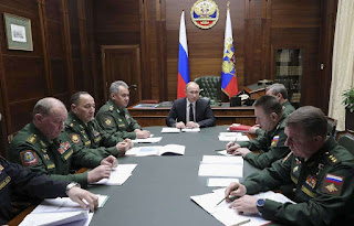 Vladimir Putin claims Russia's new weapons have no foreign equivalent