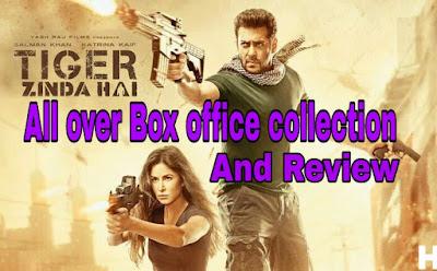 'Tiger zinda hai' box office collection total 50 Days 'Salman Khan' blockbuster movie