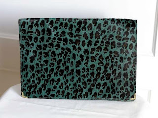 Pre-Owned Rachel Comey Animal Print Clutch