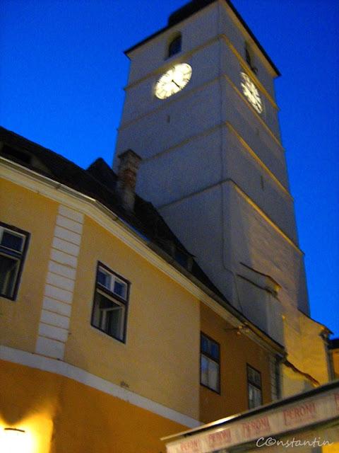 Sibiu - Piața Mare - Turnul Sfatului - blog FOTO-IDEEA