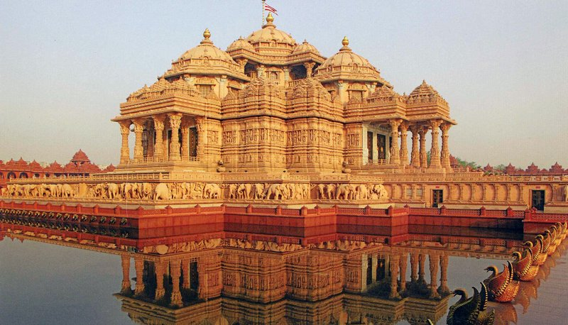 largest temple in india